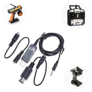 FM/_ Flysky Simulator USB Cable FS-SM100 for FS-GT3B GT3 GT2 T6B T6 FS-TH9X Trend