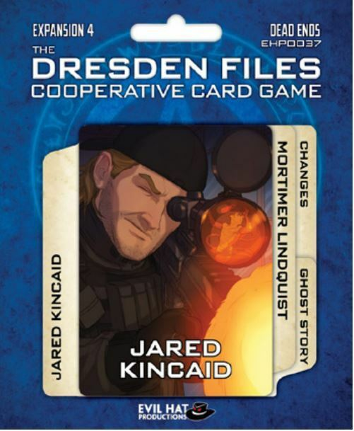 The Dresden Files - Card Game - Files Expansion 4 - Dead Ends 7c8a3f