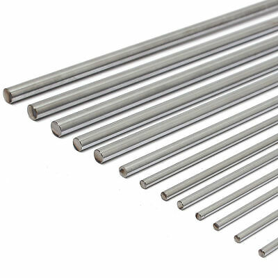 2Pcs 600mm 12mm Linear Optical Axis Steel Bearing Cylinder Rail Drive Shaft