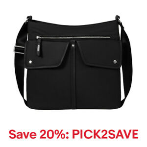 baggallini Hillcrest Hobo with RFID, Nylon, Multiple Colors, 20% off: PICK2SAVE