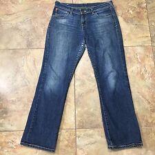 Evisu PUMA Women's Straight Leg Jeans 31x28