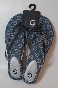 G-By-Guess-Women-039-s-Jumper-Thong-Sandals-Sz