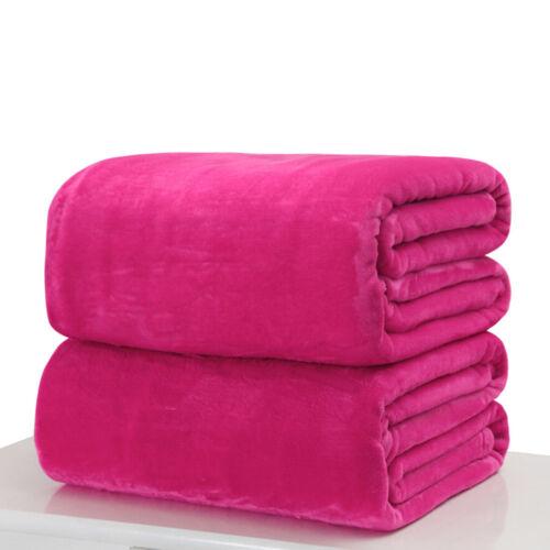 1x Baby Rabbit Knitted Flannel Blanket Bedding Quilt Play Blanket Towel WraPRUK