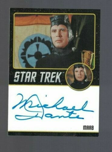 Michael Dante 2015 Star Trek Original Series Rittenhouse Autographed Card