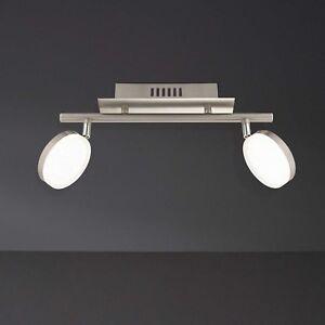 WOFI-Plafonnier-LED-Crochet-a-2-LAMPES-NICKEL-reglable-couloir-16-Watt-1200