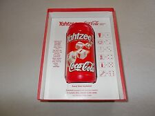 Hasbro collectors edition Coca Cola Yahtzee game boxed complete travel container