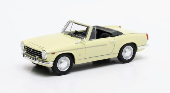 MATRIX SCALE MODELS 30902-012, 1962 INNOCENTI 950-S SPIDER, YELLOW, 1 43 SCALE