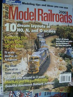 Great Model Railroads Magazine 2006-10 Layouts-N/HO/O -NJ Conrail/Burbank Juncti