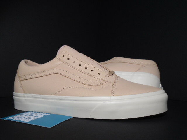 VANS OLD SKOOL DX VEGGIE TAN LEATHER VACHETTA S WHITE VN0A32GJLUI AUTHENTIC 8.5