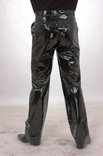 Lackina Patent Trousers in Jeans Style for Him