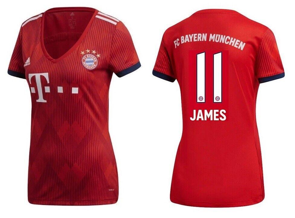 Trikot Adidas FC Bayern München 2018-2019 2018-2019 2018-2019 Home - James 11  | Sale Online Shop  f61205