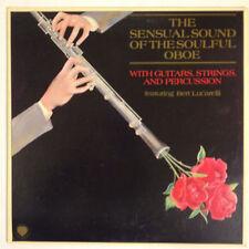 Sensual Sound of the Soulful Oboe w/ Bert Lucarelli vinyl LP 1981 NM