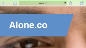 ALONE-CO-domain-name-LLLLL-one-word-easy-to-remembe