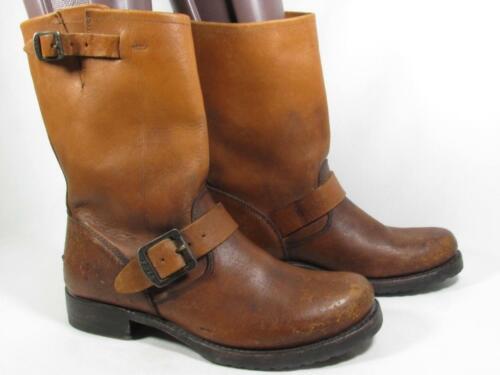 Frye Veronica Engineer Boot Women size 7.5 Distres