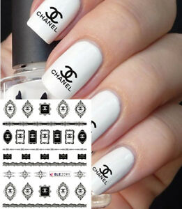 NOUVEAU-STICKERS-LOGO-MARQUE-BIJOUX-ONGLES-WATER-DECALS-NAIL-ART