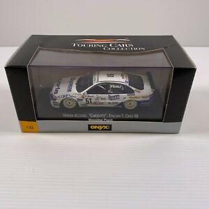 "Onyx 1:43 XTC99003 Honda Accord ""Christy's"" Italian T Cars 1998 - Massimo Pigoli"