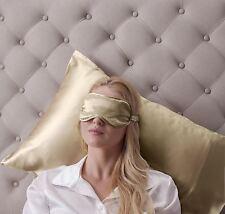 Jasmine Silk Pure Silk Filled Sleep Eye Mask Sleeping Eye blindfold Taupe