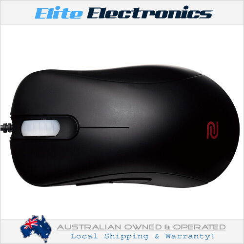 BENQ ZOWIE EC1-A ERGONOMIC RIGHT HANDED 3200DPI PRO GAMING MOUSE BLACK LARGE