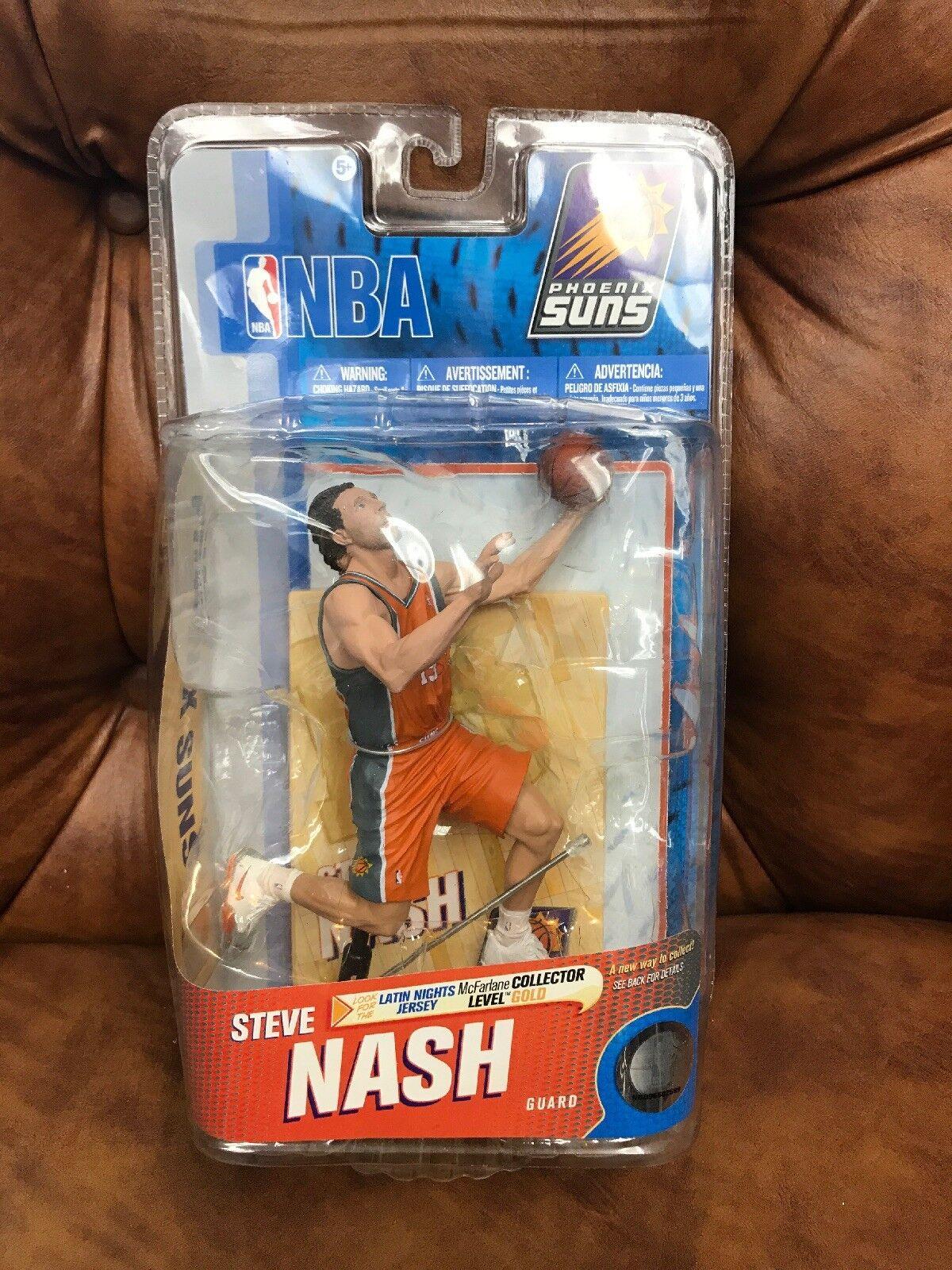 Mcfarlane NBA 19 Steve Nash Phoenix Suns basketball figure figurine Rare