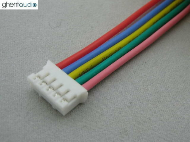 30cm 1ft 10pcs JST PHR-5 UL Silicone Stranded Copper 24AWG Wire//cable lead