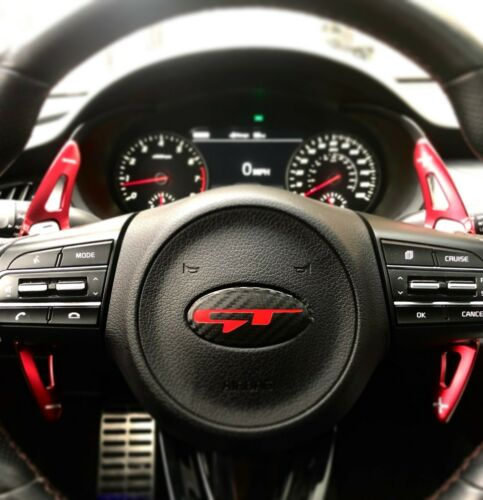 Stinger GT steering wheel emblem fits Kia Stinger Forte