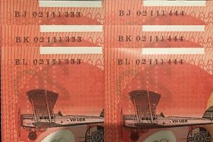 RARE-6X-2002-20-CONS-UNC-TRIPLETS-SAME-SEMI-SOLID-SERIALS-1-MILLION-NOTES-APART