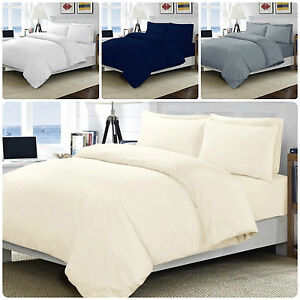 New-100-Egyptian-Cotton-Luxury-Hotel-Quality-200TC-Fitted-Bed-Sheet-Bed-Cover