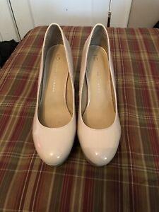 LC Lauren Conrad Johanna Shoes Womens 9.5M Black Shiny