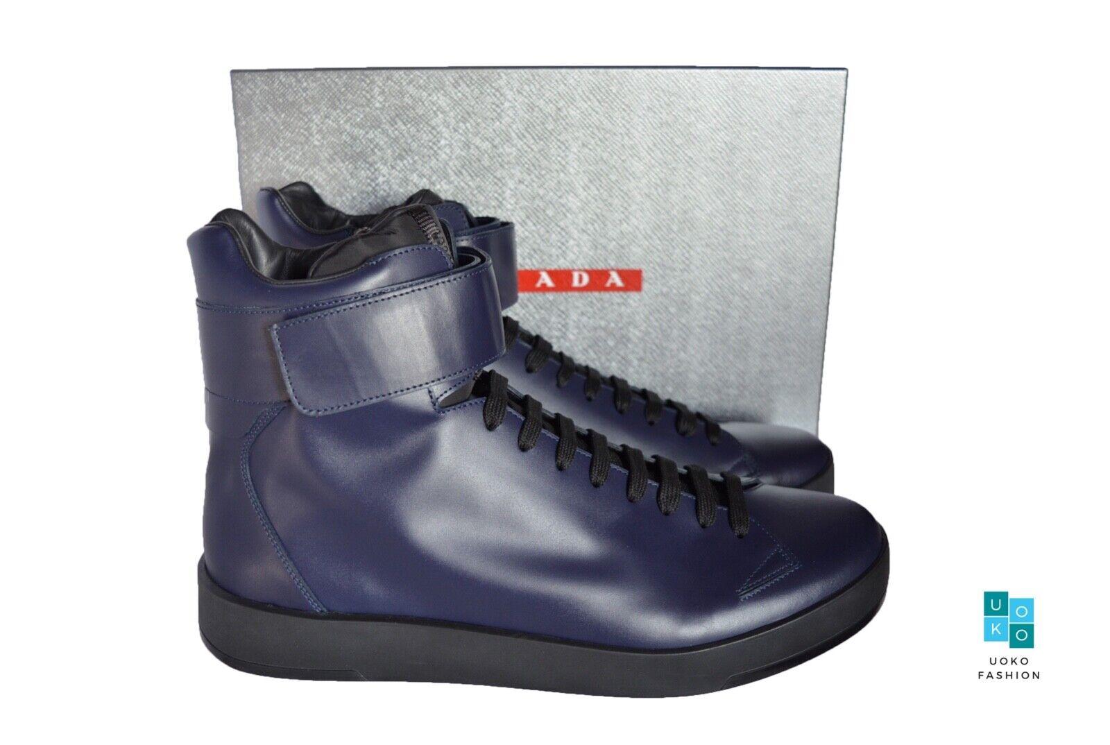 New in Box Authentic PRADA Mens Shoes Sz US12 EU45 UK11 4T3016