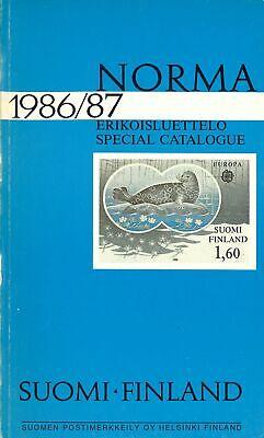 Honig Norma 1986/87 Briefmarken Suomi-finland Modische Und Attraktive Pakete