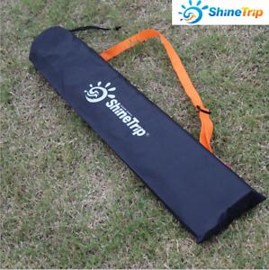 Image is loading 80-15cm-Canopy-Tent-Poles-Tent-Pegs-Trekking- & 80*15cm Canopy Tent Poles Tent Pegs Trekking Pole Storage Bag ...