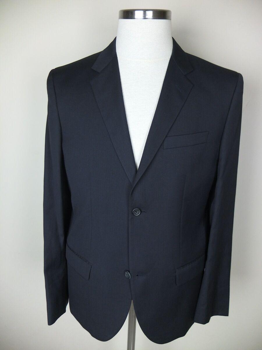 MARC JACOBS navy Blau wool blazer authentic - Größe 40 US / 50 EU - NWT