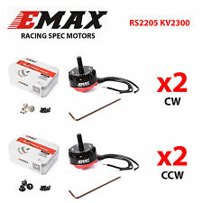 EMAX RS2205 2300KV CW/CCW Motor for FPV Mini Racing Quadcopter 2 Pairs US STOCK