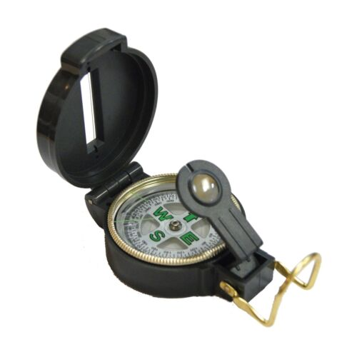 Ultimate Survival Technologies Lensatic Compass Black Glow-in-the-Dark 2-Pack