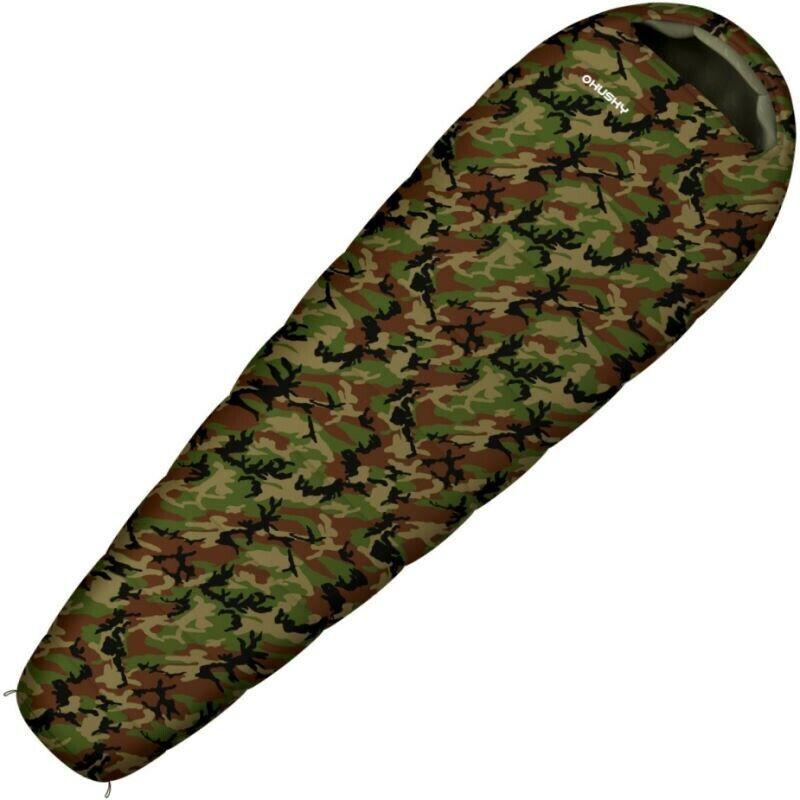 Sac de couchage enfant Hucielo Junior Army 10°C camouflage
