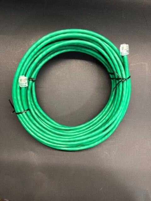 5ft RJ11 RJ12 CAT5e Green DSL Telephone Data Cable