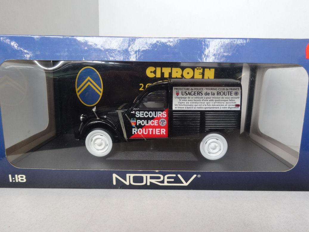 Norev   Citroen 2CV Camionnette Police 181504 New