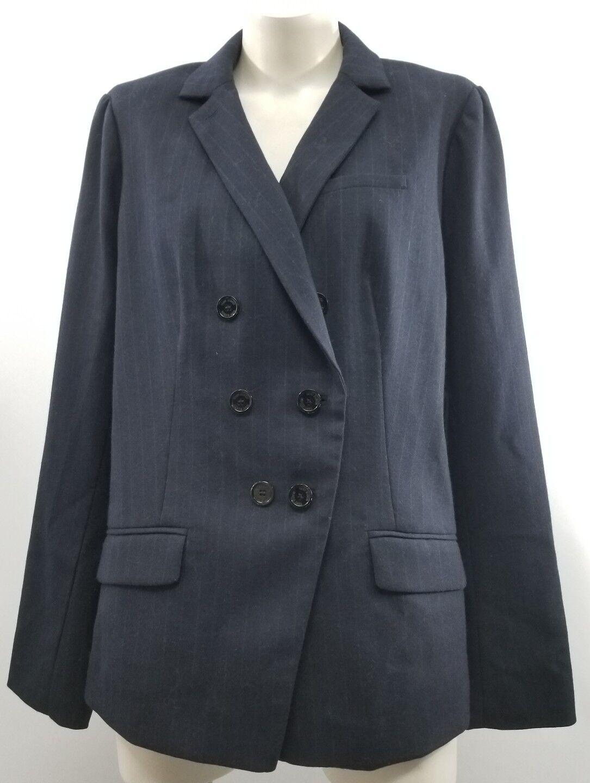 Tory Burch Womens Navy Blazer Sz 14