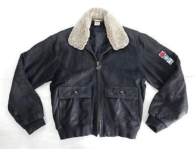 Adidas Sapporo 72 Vintage Jacket Giacca Pelle Leather Grande Assortimento