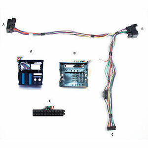 vw audio2car parrot mki9000 mki9100 mki9200 wiring harness 84942 rh ebay co uk