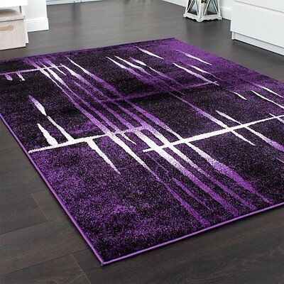 Dark Purple Rug Soft Deep Carpet