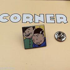 Pin's Folies *** Corner signé N° 254 Tintin Snowy Kuifje Tim und Struppi