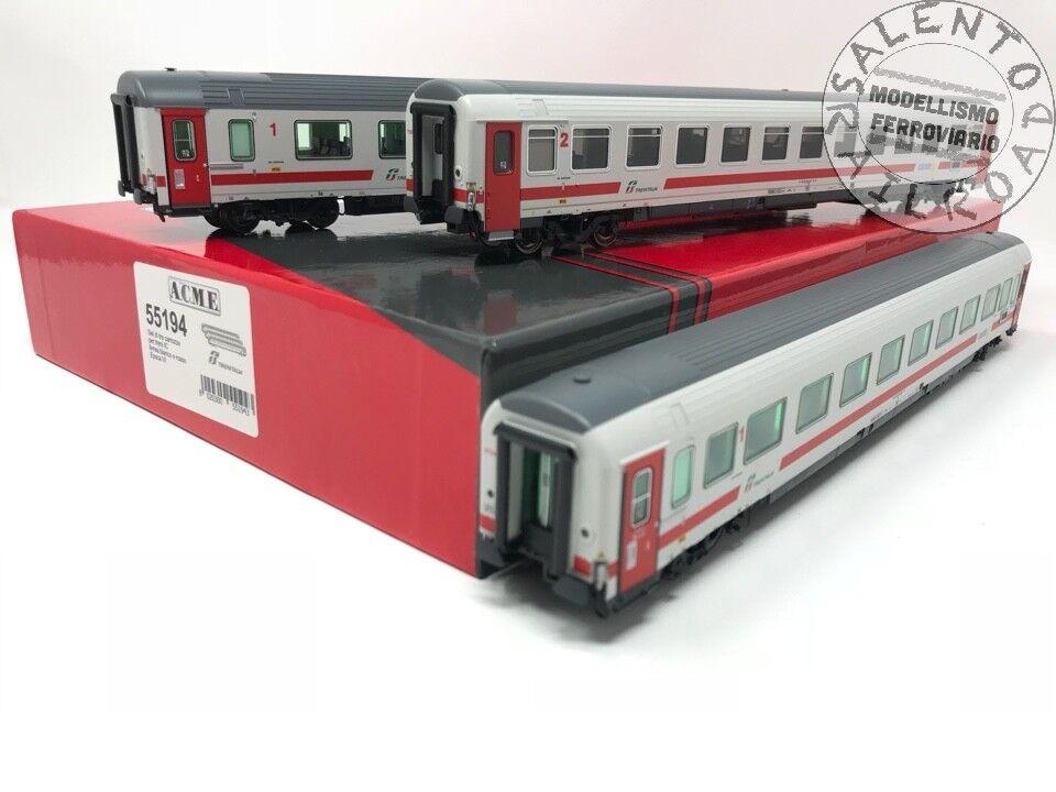 Acme 55194 Set 3 Pasajeros  Intercity Day  FS Trenitalia - 1 87