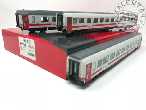 "1//87 ACME 55194 set 3 carrozze  /""Intercity day/"" FS Trenitalia"