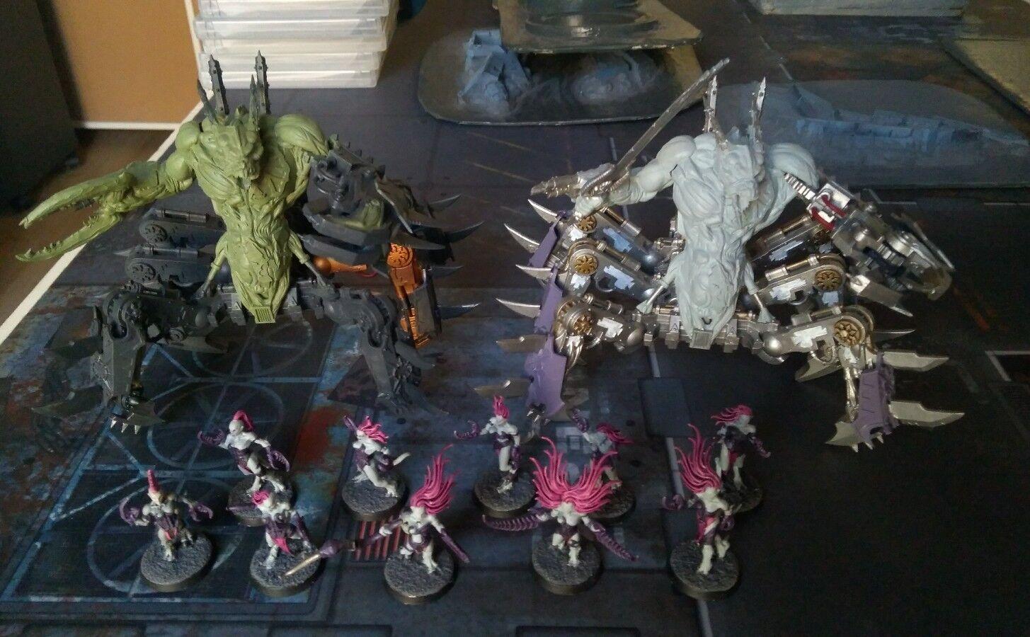 Massive Warhammer Chaos Daemons Army Demons  40k 40,000 Lot Armata Demoni Lotto  Ultimo 2018