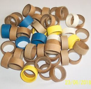 Hornby Dublo Replica Cardboard Packing Rings For 2 & 3 Rail Wagons & Coaches Doux Et AntidéRapant
