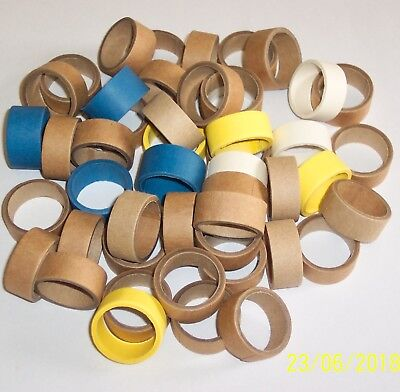 Unito Hornby Dublo Replica Cardboard Packing Rings For 2 & 3 Rail Wagons & Coaches