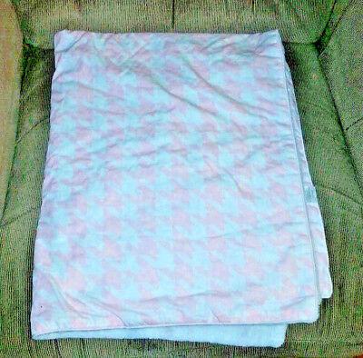 Coral bkb Leopard Baby Blanket