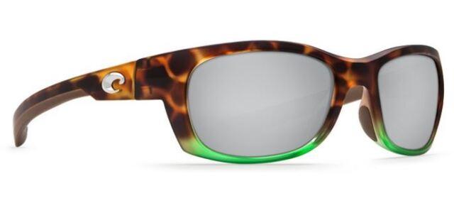 13e5126e043c2 Costa Del Mar Trevally GT 77 Matte Tortuga Fade Sunglasses Silver 580p
