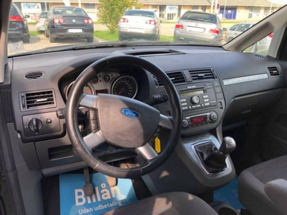 Ford C-MAX 1,6 TDCi Ghia Van Diesel modelår 2009 Sortmetal